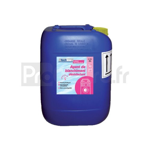 Techline Agent de Blanchiment Désinfectant 20L
