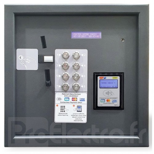 LM Control Touch N Pay Boutons Version Accepteur & Bancaire Sans Contact