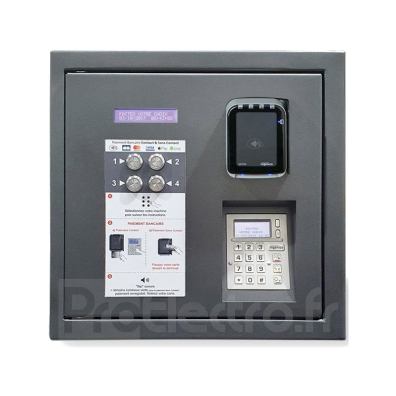 LM Control Touch N Pay Boutons Version Bancaire Avec et Sans Contact